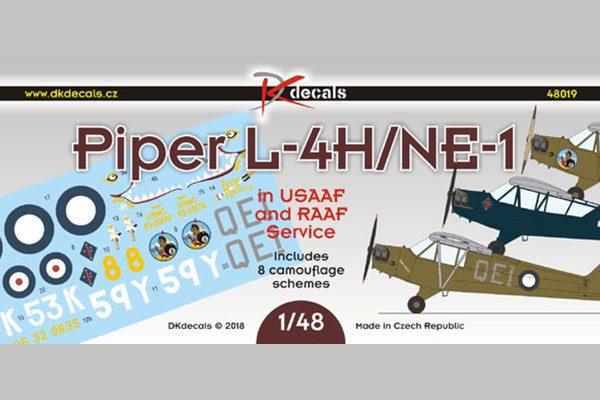Piper L-4H/NE-1 USAAF and RAAF