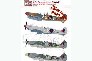 Spitfires 1943-45