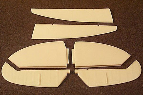 Ultracast Spitfire Mk IX Early Control Surfaces