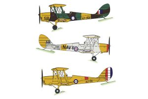 WWII Tiger Moths & Post-War