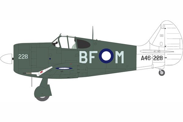Red Roo CAC Boomerang A46-228 5 Sqn RAAF - 1/48 Scale