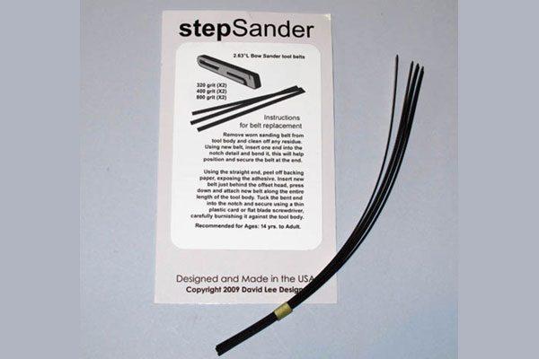 stepSander Bow Sander Refill Pack